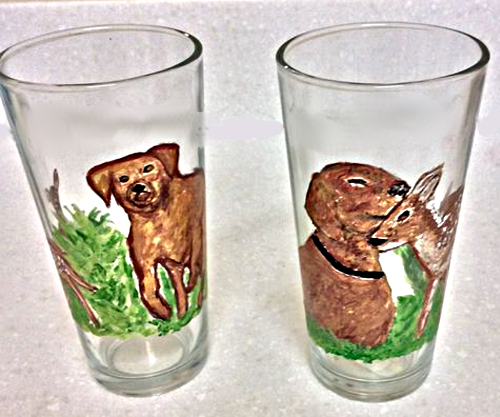 Hunting Dog (Bird Dog) Glasses